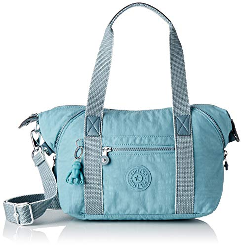 Kipling Damen ART MINI Taschen mit Tragegriff, Blau (Aqua Frost), Einheitsgröße