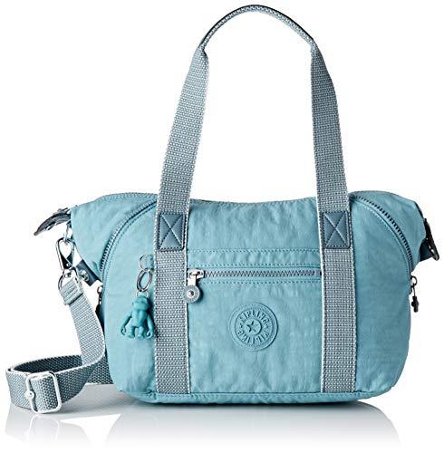 Kipling Damen Art Mini Tornistertasche Blau (Aqua Frost)