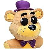 Mdlucz Peluche Fazbear de 25 cm en Freddy Golden Bear's Five Nightmare Cupcake Fox Balloon Boy Clown...