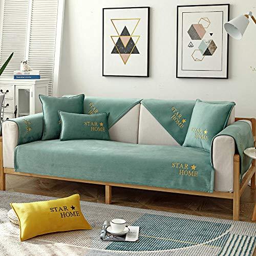 Hybad Dunne pluche 2/3/4 zits Sofa Slipcover, anti-slip lederen Slip Cover Sofa in slaapkamer, erker kussen, bank covers gooien