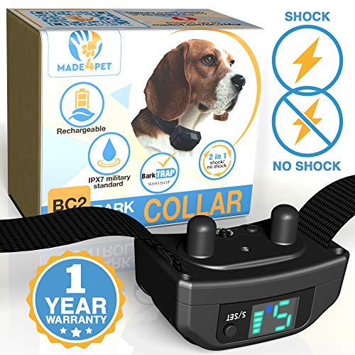 Made4Pet Dog Bark Collar No Bark Collar for Medium...