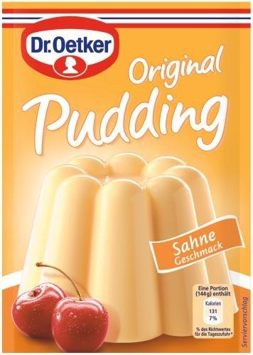 Dr. Oetker Original Pudding Sahne, 37g