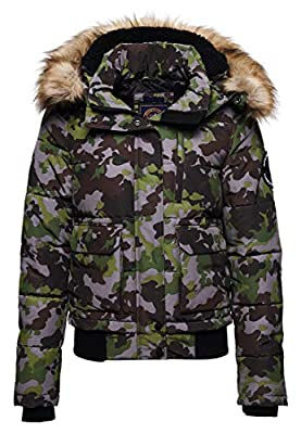 Superdry Everest Bomber Jacket Army Camo