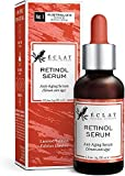 Retinol Serum 2,5% Konzentrat für empfindliche Haut - Reines Retinol-Serum 2,5% Wirkstoff - Hochwirksames Anti-Aging Serum für Gesicht mit Hyaluronsäure und Zaubernuss in Bio Aloe Vera und...