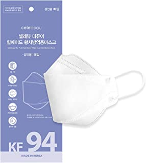 Sponsored Ad - CELEBEAU - KF94 Pure Heal Made Yellow Dust Face Mask - 4 Layer Filter Protective Respirator Mask - 10 Pack