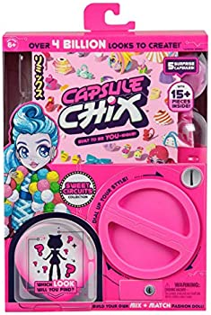 Capsule Chix Sweet Circuits Collection 4.5 inch Doll with Capsule Machine