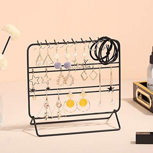 MUY Ins Style Hierro Metal Colgante Organizador de Joyas Soporte para Pendientes, Collares, Pulseras Exhibición Caja de Recuerdos