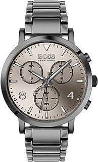 HUGO BOSS 雨果博斯 男式计时石英手表不锈钢表带 1513695