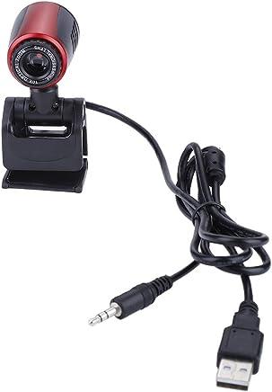 Fishlor USB HD Web Camera, USB2.0 con Mic 16MP HD Webcam Webcam Cam 360 ° per Computer PC Laptop per Skype/MSN, Web Camera - Trova i prezzi più bassi
