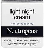 Neutrogena Light Night Cream, 2.25 Ounce (Pack of 2)
