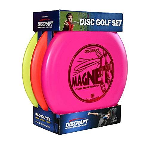 Discraft Starter Pack Beginner Disc Golf Set (