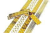 20x Quilling Papier-Streifen'Golden X-Mas'Faltstreifen Fröbelstreifen Paper Flechtsteifen