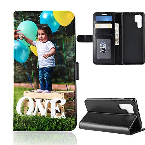 Für Huawei P30 Pro Personalisierte Foto-Handyhülle, Flipcase Personalisierte Individuelle Ihr Eigenes Bild Foto Brauch Schutzhülle Handy Hülle Tasche Flip Book Case Cover, für Huawei P30 Pro