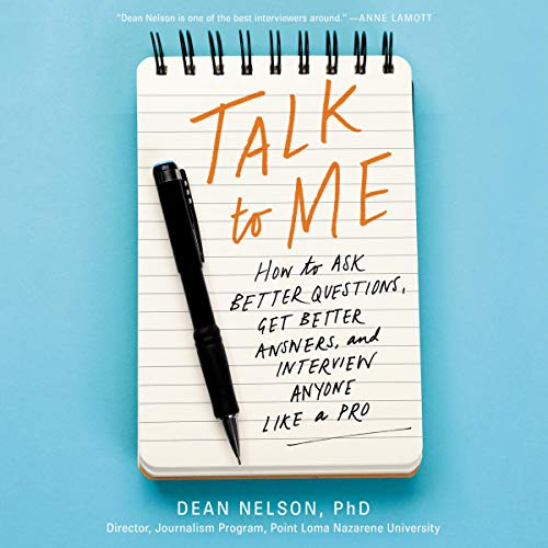 Page de couverture de Talk to Me