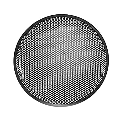 """sourcing map 15"""" Speaker Waffle Grill Metal Mesh Audio Subwoofer Guard Protector Cover with Clips,Screws from Sourcing Map"""