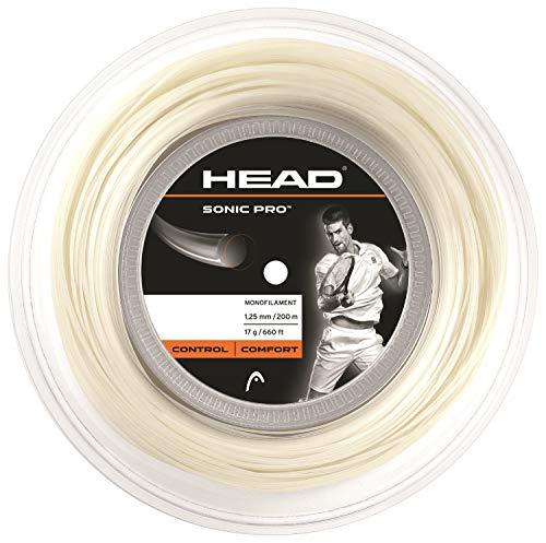 Head- Sonic Pro Rollo Cordajes de Raquetas de Tenis, Color...