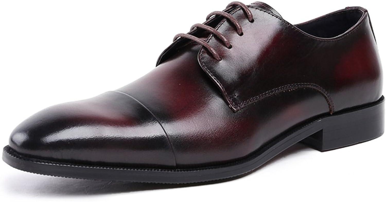 Utspädda mäns spetsLace upp upp upp Derby Dress läder skor Oxfords  många medgivanden
