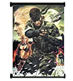 Wall Scrolls Metal Gear Solid Game Fabric Poster (16'x23') Inches