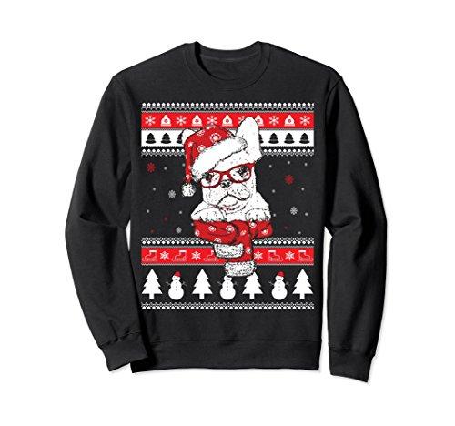Funny French Bulldog Ugly Christmas Sweatshirt