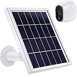 20%OFF Solar Panel Compatible with Arlo HD, Power Arlo HD Outdoor Camera Continuously with Adjustable Mount