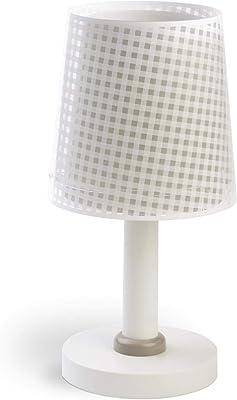 Dalber - Lampada da tavolo E-14, Beige, Multicolore, 15 x 15 x 30