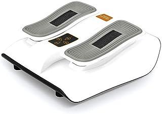 電気の 足のマッサージャー、無線リモート?コントロール、ホームオフィスのための熱間圧延と機械電気マッサージの深い混練。 人間工学的デザイン, white