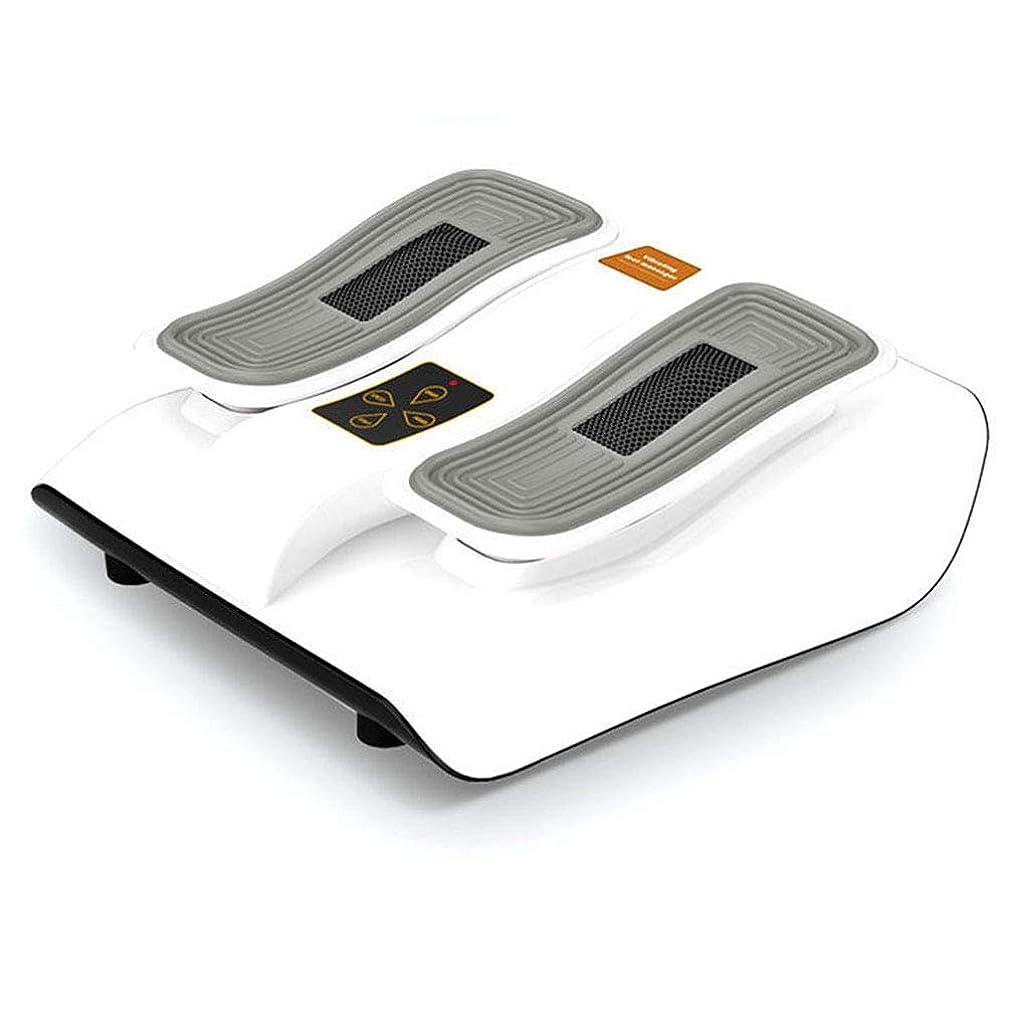 服資料寄付足のマッサージャー、無線リモート?コントロール、ホームオフィスのための熱間圧延と機械電気マッサージの深い混練。, white
