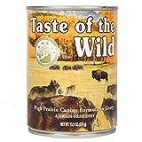 Taste Of The Wild High Prairie Can Dog Food,13.2...