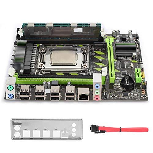 Placa Base X79, Placa Base de Computadora de Escritorio 2620CPU + 8G de Memoria DDR3, Accesorio de PC, Indicador Dual para Ranura M.2