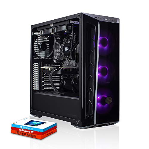 Fierce Possessor High-End RGB Gaming PC - Veloce 4.9GHz Octa-Core Intel Core i7 9700K, 512GB M.2 Disco a Stato Solido, 16GB 3000MHz, NVIDIA GeForce RTX 2070 Super 8GB, Windows 10 installato 1137398