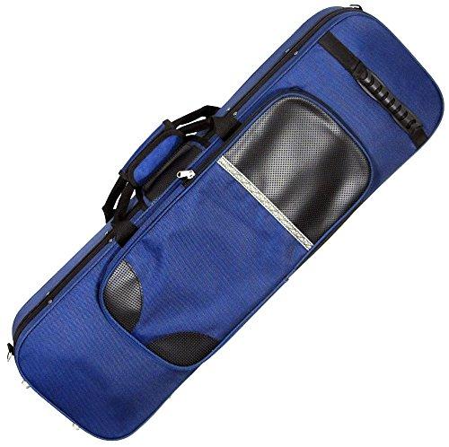 Valentino VVC-036 Oblong Viool Foam Koffer blauw