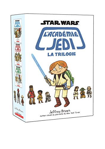 Coffret Star Wars : l'académie Jedi