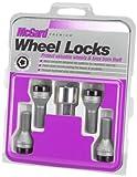 McGard 27326 Chrome/Black Bolt Style Cone Seat Wheel Lock Set