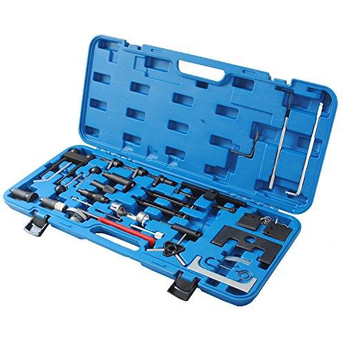 CCLIFE Motor Einstellwerkzeug TDI Zahnriemen Werkzeug Arretierwerkzeug Steuerriemen Nockenwellen 1,2 1,4 1,6 1,9 2,0 2,5 3,3 L