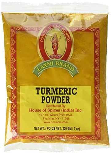 Laxmi Natural Ground Turmeric Powder - 7oz (200g)
