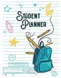 Student Planner: Undated Middle School and High School Student Planner for Weekly and Monthly Study planning, To-do-list...