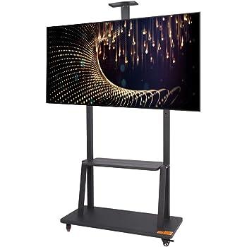 CCDZDM Soporte para TV Móvil TV Móvil para 40-75 Pulgadas De Altura Rotación Ajustable De 360 ° para Pantalla Plana Pantalla De Plasma LCD Led Dormitorio Sala De Estar Sala De Recepción: