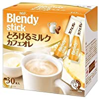 AGF ブレンディ スティック とろけるミルクカフェオレ (10g×30本)×6箱入×(2ケース)