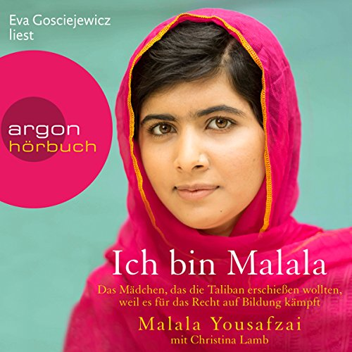 Ich bin Malala audiobook cover art