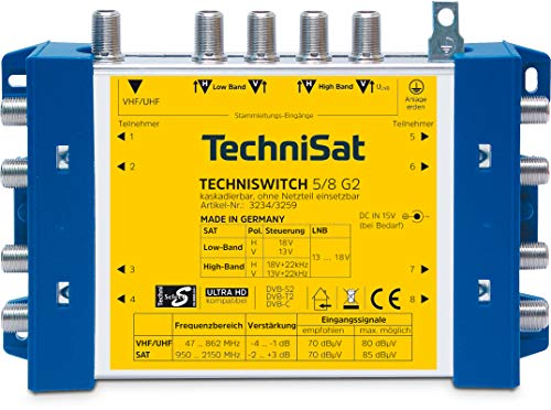 TechniSat TECHNISWITCH 5/8 G2 – Multischalter...