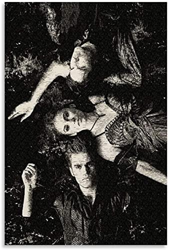 1000 Pezzi Puzzle per Adulti Bambini Pop Drama Serie TV drammatica Americana The Vampire Diaries Puzzle Decompressivo Intellettuale 120 Piece 9.8x7.8inch(25x20cm) Senza Cornice