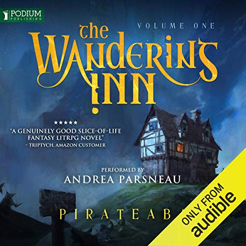The Wandering Inn audiobook cover art