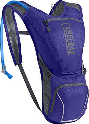 CamelBak Aurora Crux Reservoir Hydration Pack, Deep Purple/Graphite, 2.5 L/85 oz