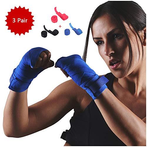 Elastische Verbanden Boksbandages Verbanden Boxing Boksbandages Kickboxing Handschoen Elastische Verbanden Boxing Fist Inner Gloves - 3pair,Female