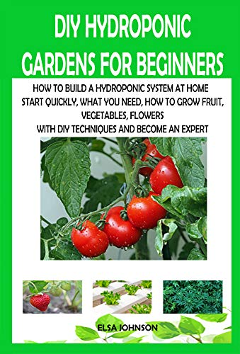 DIY HYDROPONIC GARDENS FOR BEGINNERS: HOW TO BUILD A HYDROPONIC SYSTEM AT HOME  START QUICKLY, WHAT YOU NEED, HOW TO GROW FRUIT, VEGETABLES, FLOWERS WITH DIY TECHNIQUES AND BECOME AN EXPERT by [ELSA JOHNSON]