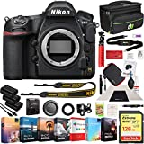 Nikon D850 45.7MP Full-Frame FX-Format Digital SLR Camera Body Bundle with 128GB Memory Card, Photo and Video Professional Editing Suite, Camera Bag, Cleaning Kit, 2X Rechargeable Li-Ion Battery
