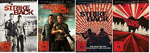 Strike Back - Staffel 1-4