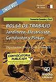Bolsa de trabajo. Jardinero, Electricista, Conductor y Pintor. Diputación Provincial de Toledo