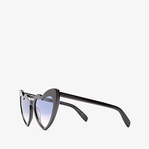 Shiny Black/Violet Gradient