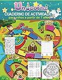 cuaderno de actividades para niños a partir de 7 años. puzzle laberinto búsqueda de números puzzle sudoku coloración: Con todas estas variedades de ... a crecer y desarrollarse intelectualmente.